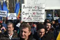 Protest anti-vaccinare